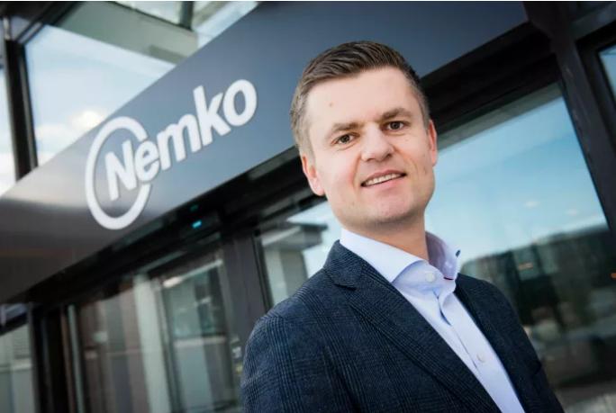 Nemko-sjef Svein Ola Ulven tar med seg 90 ansatte fra Forskningsparken til Lysaker i 2018. (Foto: Katrine Lunke, Apeland)
